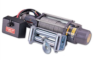 электрическая автомобильная лебедка