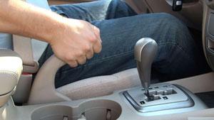 Использование ручника для торможения