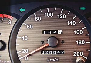 как определить пробег автомобиля