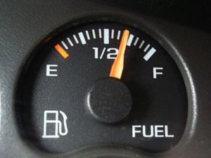 Полный бак топлива