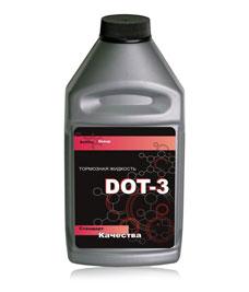 Тормозная жидковсть DOT-3