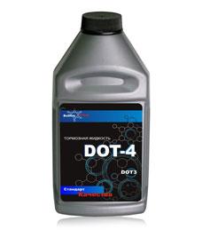 Тормозная жидковсть DOT-4